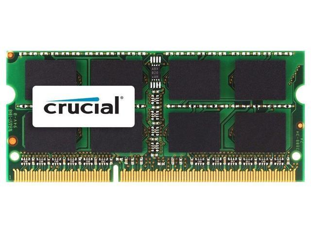 Crucial 4GB DDR3 1333MHz PC3-10600 SO-DIMM Memory for Apple Mac Book Pro iMac