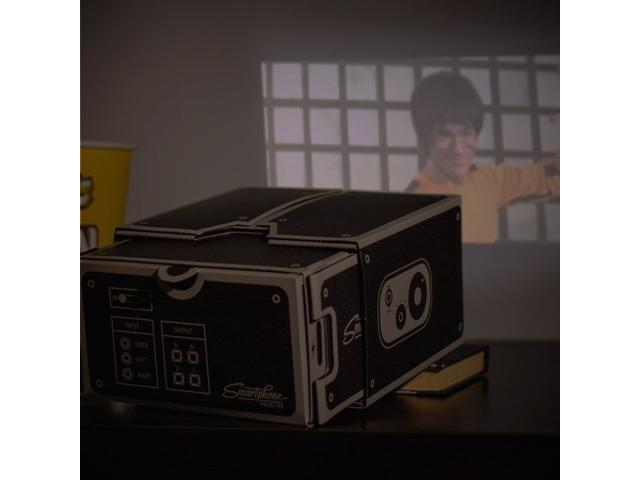 DIY Mobile Phone Projector Portable Cinema / Cardboard Smartphone Projector