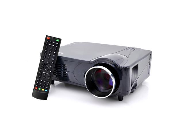 Vibob 2200 ANSI Lumens LED Home Theater Projector - HDMI, VGA, AV, YPrPb - Analog TV Input