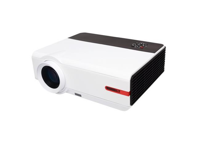 Sourcingbay PRJ-RD808W HD 3200 Lumens LED Home Theater Projector With HDMI/USB/TV/AV