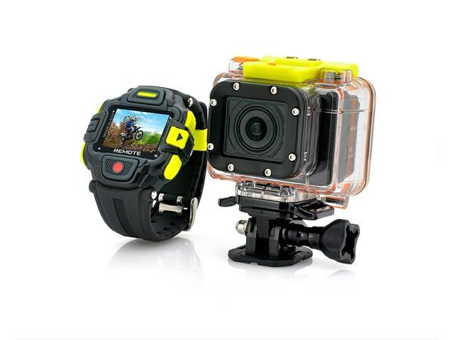 Anytek 1920X1080P Full HD Action Camera with Wi-Fi and Watch Remote Control , Panasonic Sensor, Ultra Wide 145 Degree Lens
