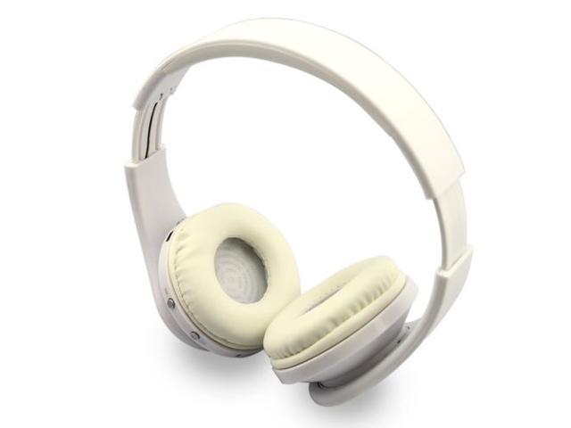 New Foldable Universal Wireless Stereo Bluetooth Headphone For iPhone Samsung LG White