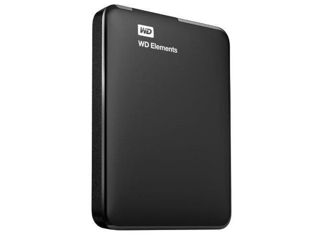 WD 1TB WD Elements Portable USB 3.0 Hard Drive Storage (WDBUZG0010BBK-NESN)