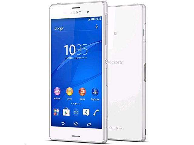 Sony Xperia Z3 D6653 16GB - Factory Unlocked - GSM International - White