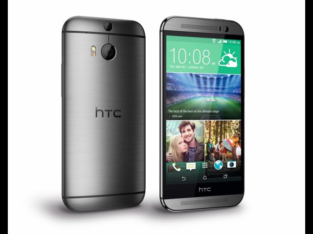 HTC ONE M8 Dual Sim 2014 Gray (Unlocked International Model) 5' Full HD , 2.5GHz Quad-Core