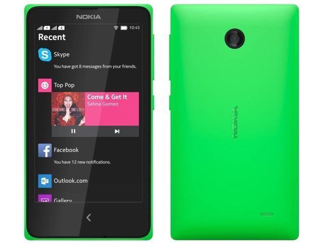 Nokia X A110 Green (FACTORY UNLOCKED) 4GB 4.0