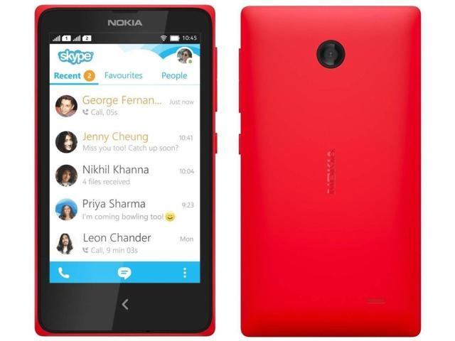 Nokia X A110 Red (FACTORY UNLOCKED) 4GB 4.0