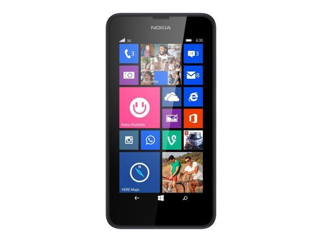 Nokia Lumia 630 Dual Sim Black (FACTORY UNLOCKED) 4.5