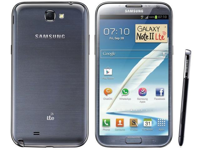 Samsung Galaxy Note 2 II N7105 Gray (FACTORY UNLOCKED) 5.5