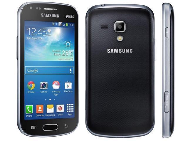 Samsung Galaxy S Duos 2 S7582 Black Dual Sim (FACTORY UNLOCKED) 4GB 4.0