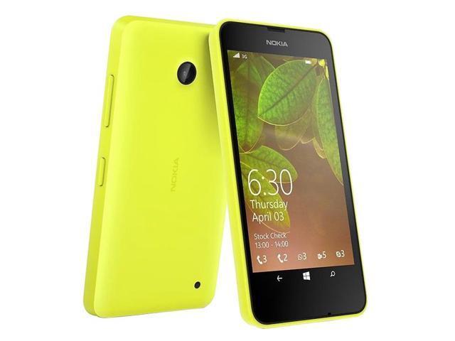 Nokia Lumia 630 Dual Sim Yellow (FACTORY UNLOCKED) 4.5