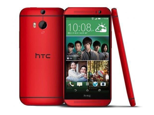 HTC ONE M8 2014 Red (FACTORY UNLOCKED) 5