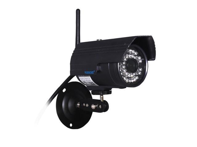 Outdoor Plug & Play Wireless WiFi IR Cut Night Vision Network Security Surveillance IP Camera