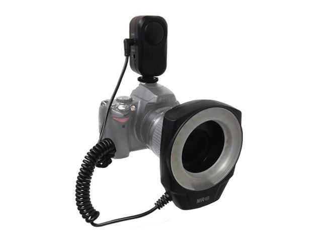 Limo Studio Smart LED Macro Ring Light Canon/Nikon Digital SLR Cameras LMG166
