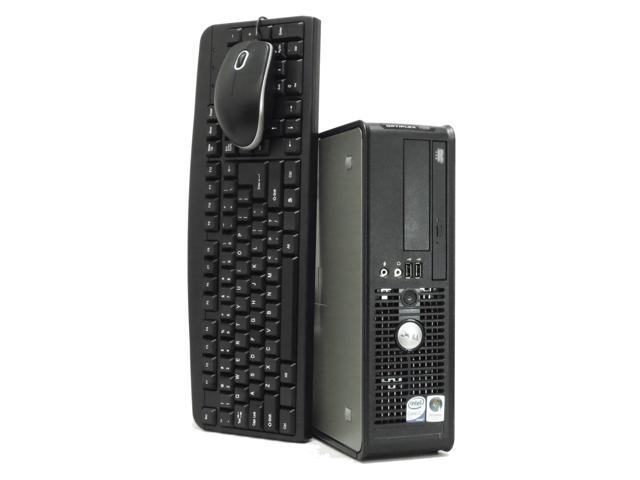Dell Optiplex 755 Small PC, Core 2 Duo 2.93Ghz, 4GB RAM, 250GB Hard Drive, DVD, Windows 7 Professional 64Bit X64 - YEAR WARRANTY.