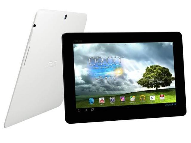 ASUS MeMO Pad Smart ME301T-A1-WH 10.1-Inch 1280x800 16GB WIFI 1.2 QUAD CPU Bluetooth 5MB Camera Andriod 4.1 Tablet - White