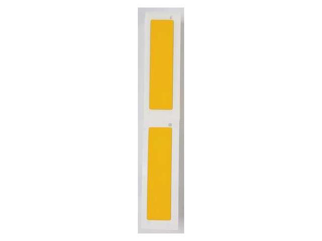 BRADY M71EP174593YL Label Cartridge, Yellow, Polyester, 4 In. W