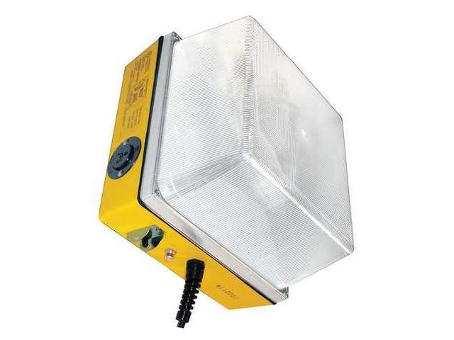 W F HARRIS LIGHTING 1200WLHD100MH Temp Job Site Light, 120V, 100W, 8500L