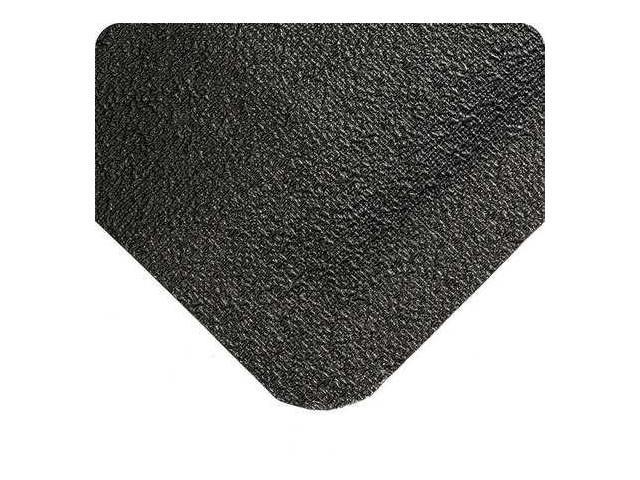 WEARWELL 447 Antifatigue Mat, 2 x 3 ft., Black, Rubber