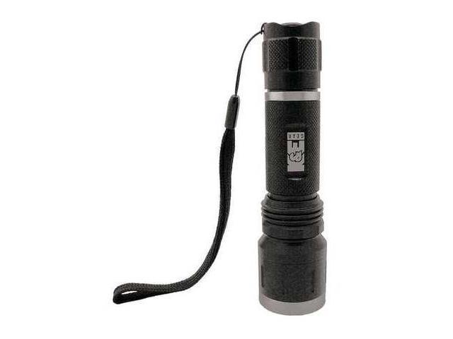 KE SAFETY KEFL66 Flashlight, LED, CR123, Black