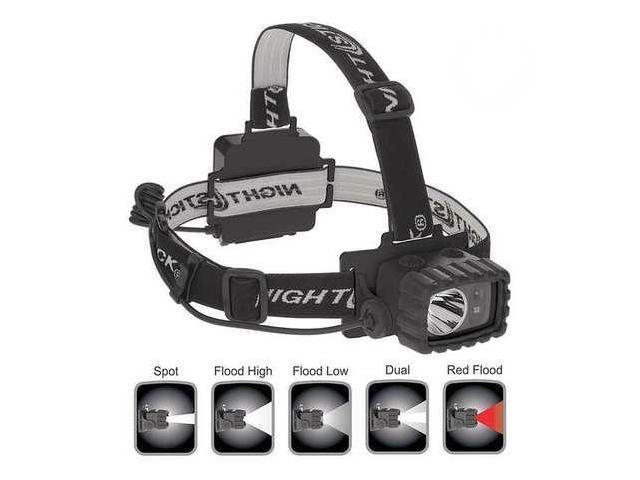 NIGHTSTICK NSP4612B Headlamp, LED, 175 lm, Black