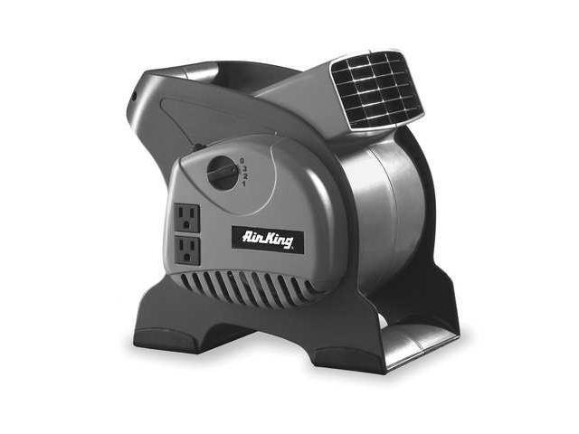 AIR KING 9550 Portable Blower Fan, 120V, 310 cfm, Gray