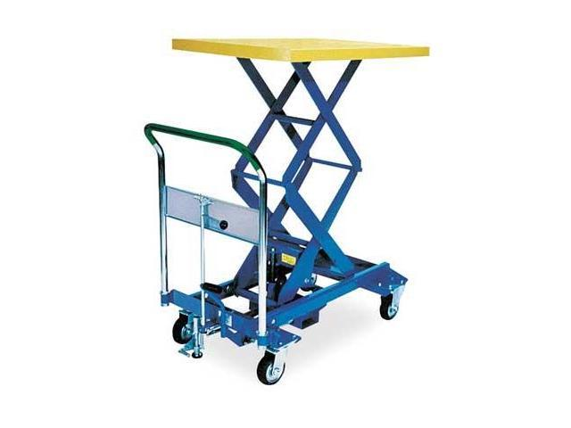 DANDY LIFT A350W Scissor Lift Cart,770 lb.,Steel,Fixed