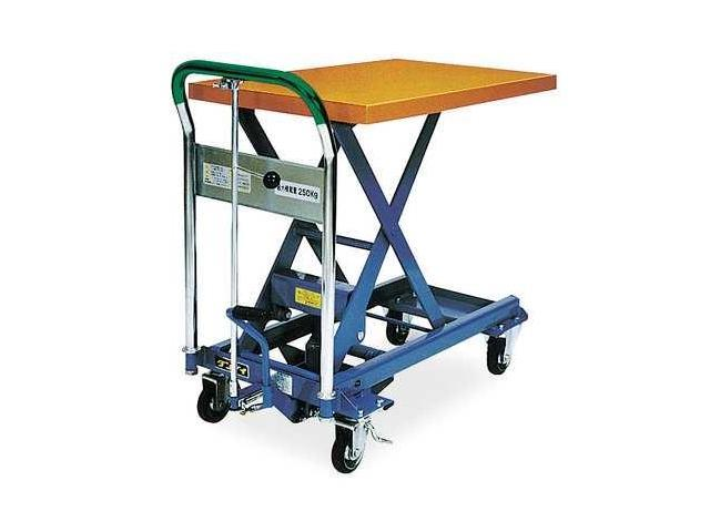 DANDY LIFT L250 Scissor Lift Cart,550 lb.,Steel,Fixed