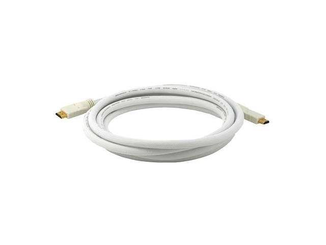 3961 HDMI Cable, High Speed, White, 10ft., 24AWG