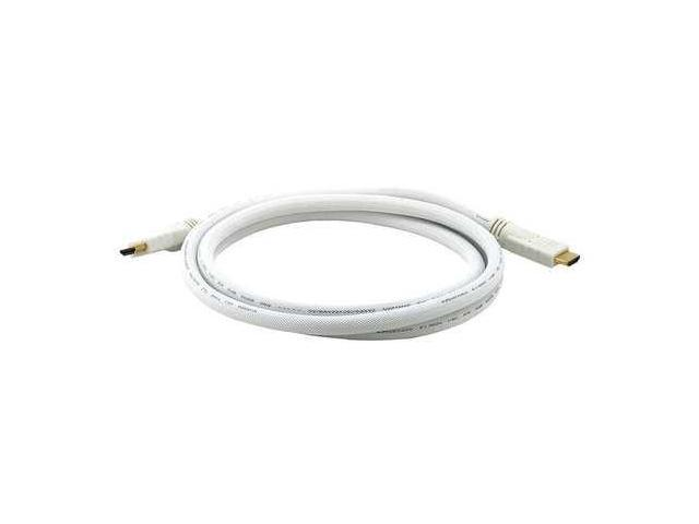 3960 HDMI Cable, High Speed, White, 6ft., 24AWG