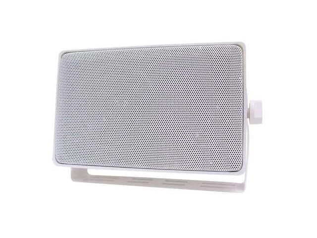 SPECO TECHNOLOGIES DMS3TSW 3Way Indoor/Outdoor Speaker,4 In,White