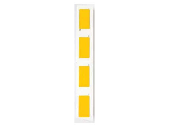 BRADY M71EP173593YL Label Cartridge, Yellow, Polyester, 2 In. W