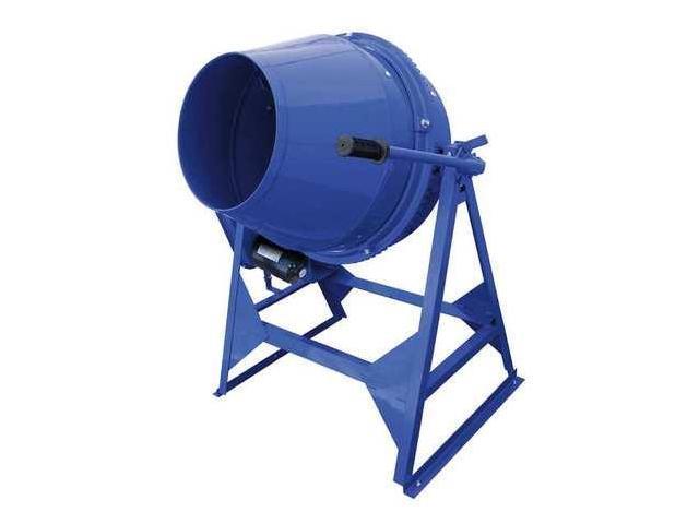 MARSHALLTOWN MIX61112 Concrete Mixer, 3 Cu. Ft., Electric, 1/2HP