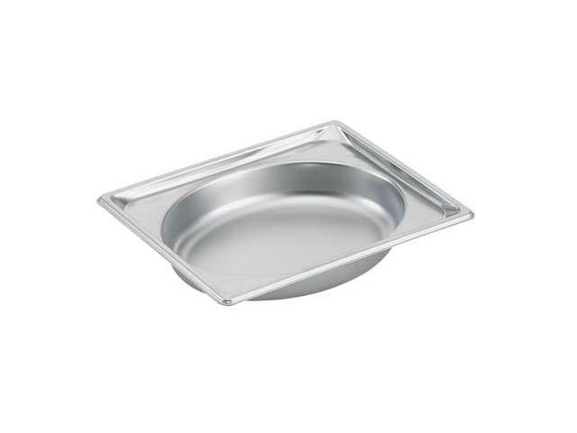 VOLLRATH 3102020, Steam Table Pans, Half Oval