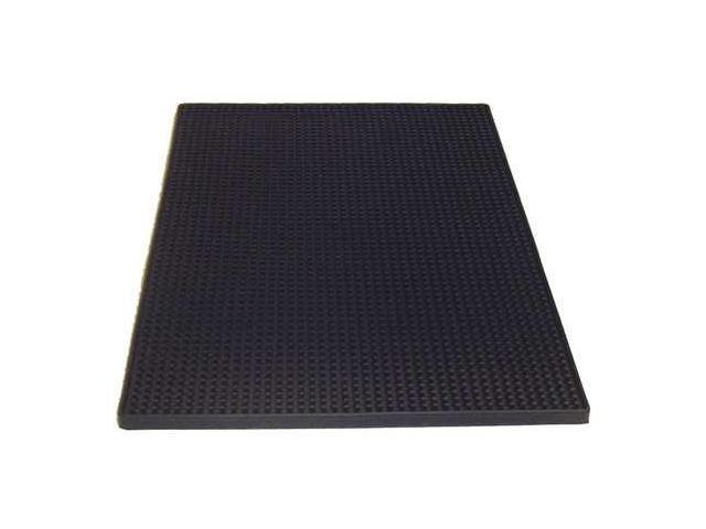 TABLECRAFT PRODUCTS COMPANY 1218BK, Bar Mat, Rubber