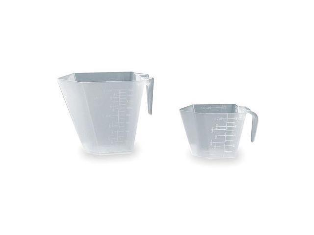 TOUGH GUY 3U608 Measuring Cup, 8 Oz