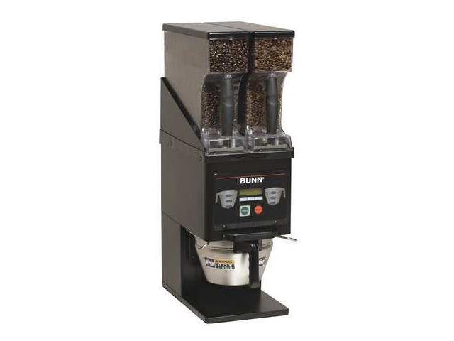 BUNN MHG BLK MultiHopper Coffee Grinder, Black
