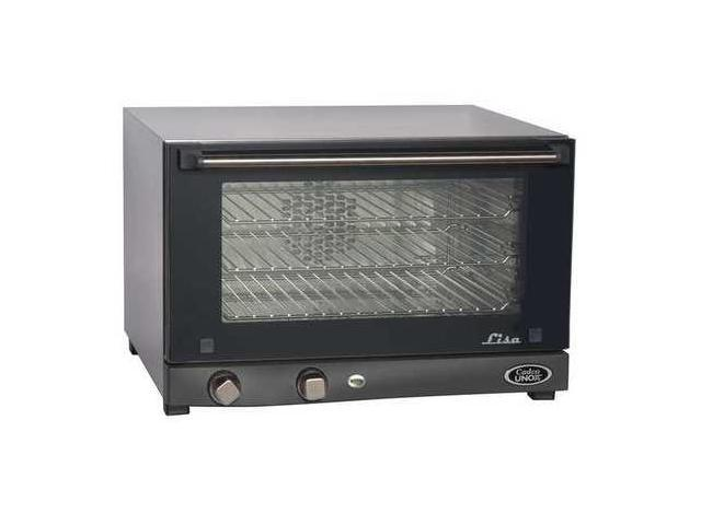 CADCO OV013 Convection Oven, 3 Shelves, Half Size