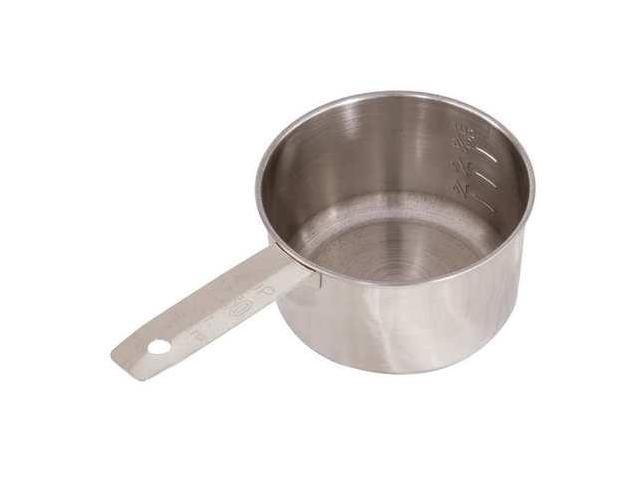 CRESTWARE MEACP1 Measuring Cup, SS, 1 Cup
