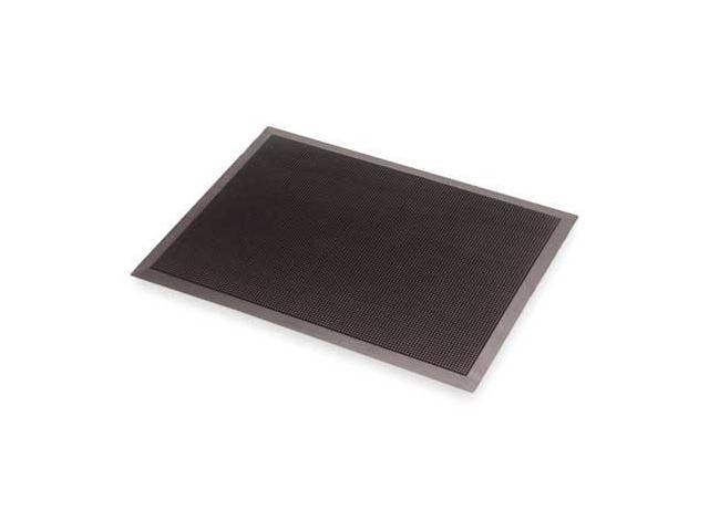 NOTRAX 347 Rubber Entrance Mat, Black, 2 ft.x32In
