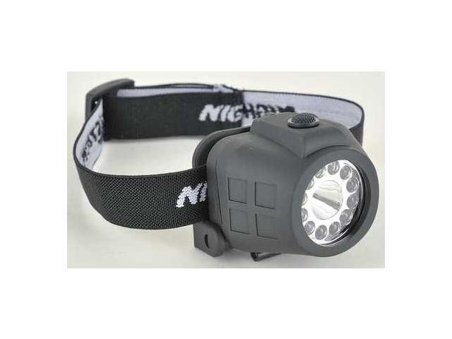 NIGHTSTICK NSP4604B Headlamp,LED,40/55/80 Lm,Black