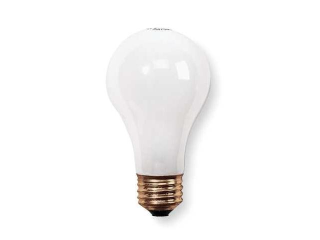 GE LIGHTING 60A/PL Incandescent Light Bulb,A19,60W