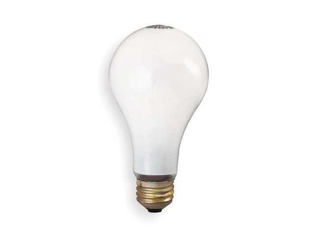 GE LIGHTING 75A/RS/STG Incandescent Light Bulb,A19,75W
