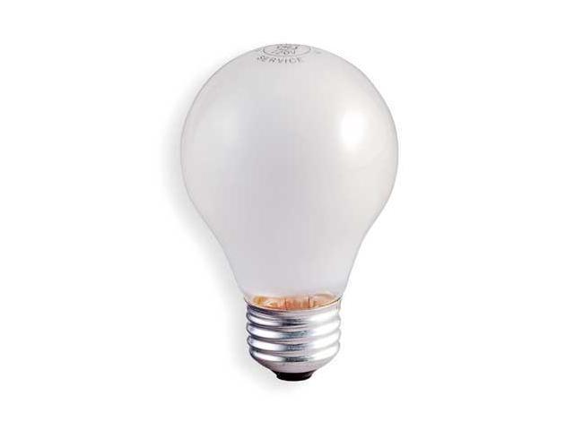 GE LIGHTING 50A19/RS75v Incandescent Light Bulb,A19,50W