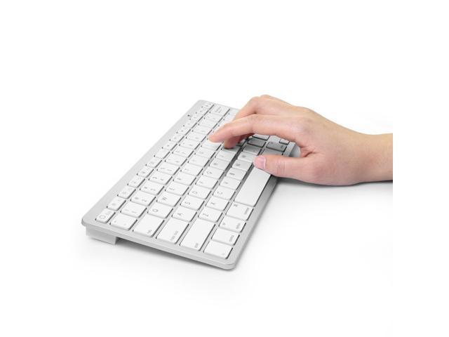 Caper® Ultra-Slim Mini Bluetooth 3.0 Wireless Keyboard for iPad Air, iPad Mini 2, iPad Mini, iPad 4 / 3 / 2, Galaxy Tab and other ...