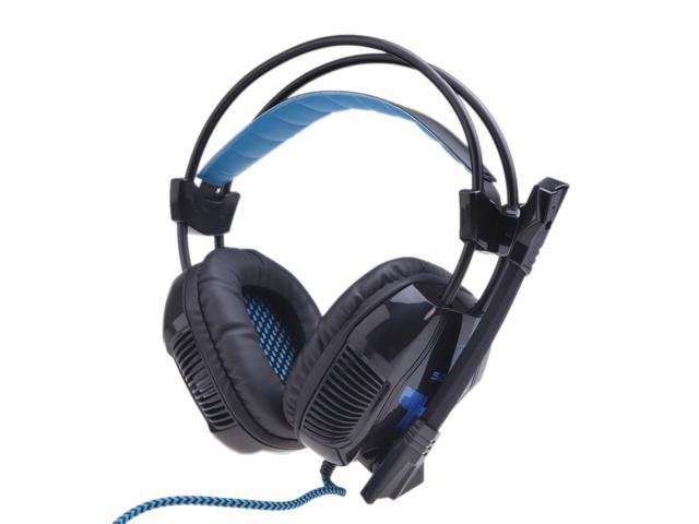 SADES A30 Stereo Gaming Headset in Sound Card USB Headphone with Microphone for Pro Gamer