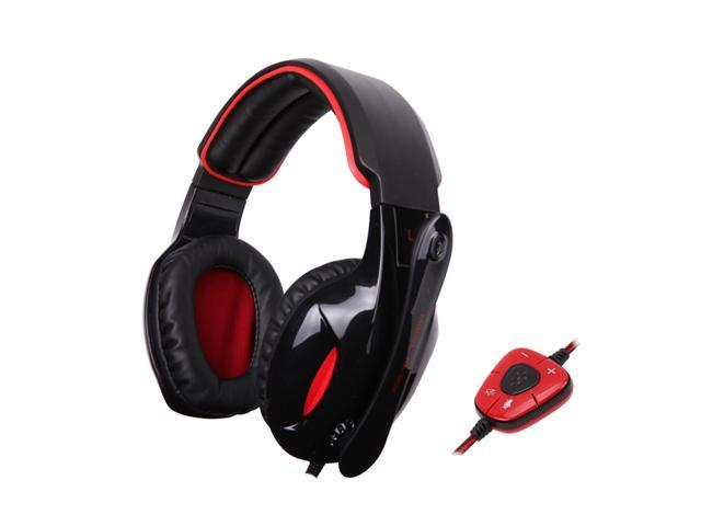 Sades SA-902 Gaming Headset with 7.1 Surround Sound (PC)Remote Control & Mic For PS3/Xbox 360/Wii/PC/Mac