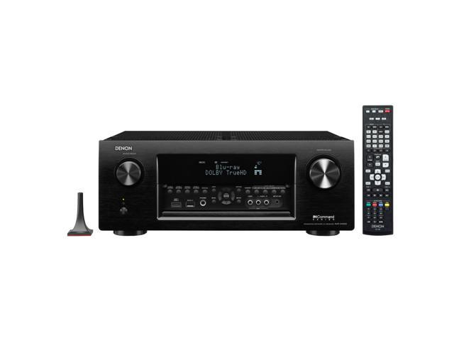 Denon AVR-X4000 7.2-Channel 4K Ultra HD Networking Home Theater AV Receiver with AirPlay