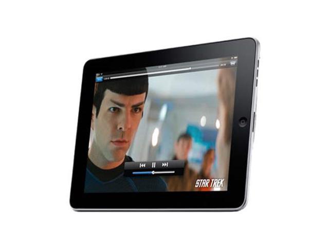 APPLE iPAD 16GB WiFi 2nd Gen Black Refubish MC769LL/A