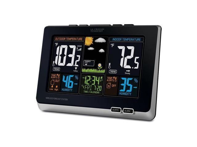 Wireless Color Weather Station & Atomic Clock